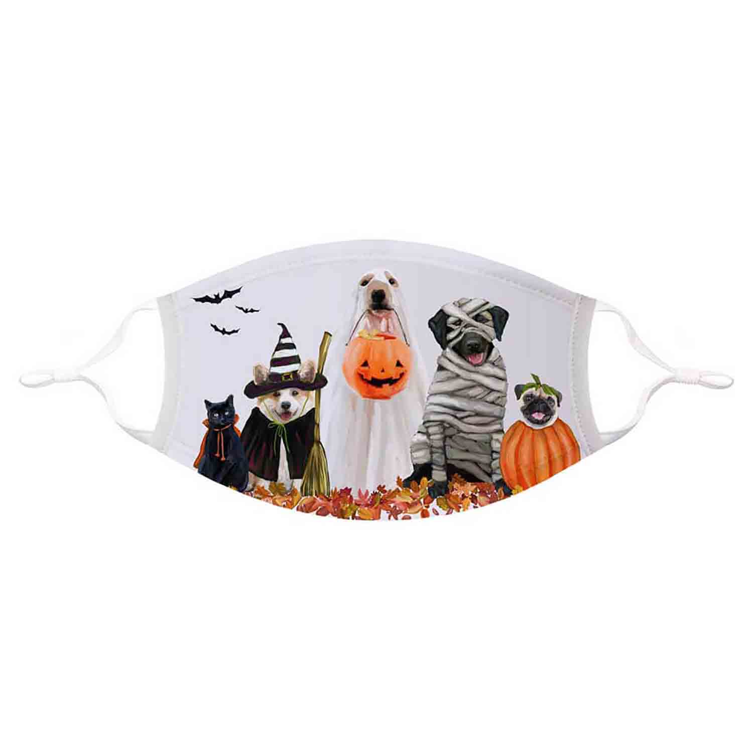 Halloween Pups Mask Adult (L/XL)