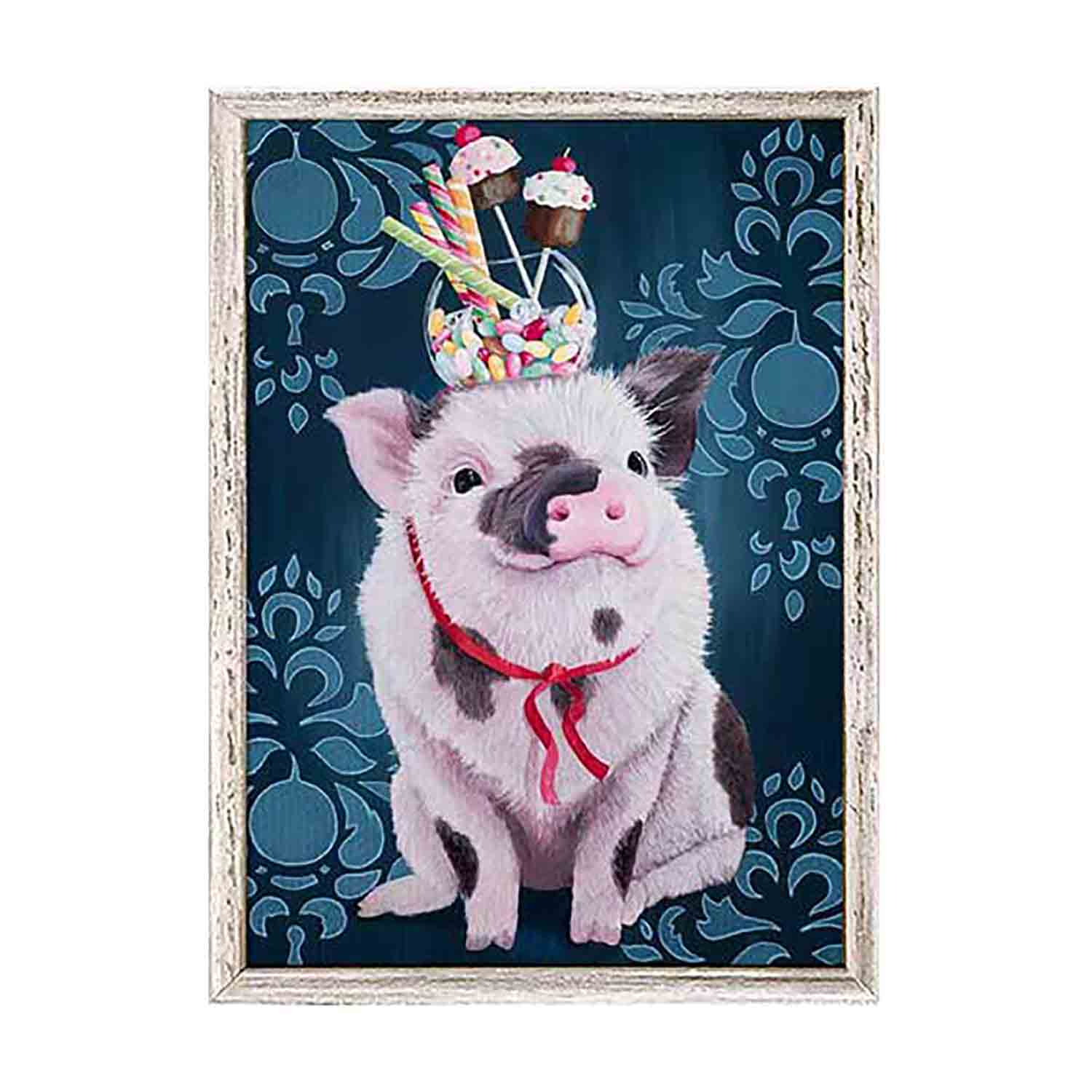 William Has A Sweet Tooth Mini Framed Canvas