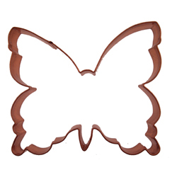Copper Cookie Cutter-Butterfly