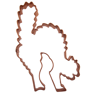 Copper Cookie Cutter-Cat