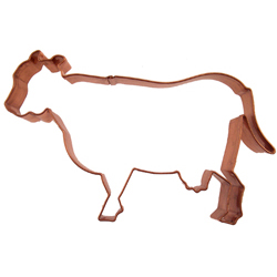 Copper Cookie Cutter-Cow