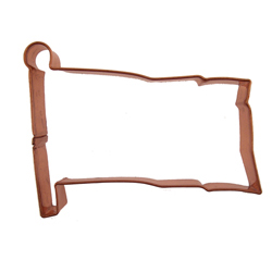 Copper Cookie Cutter-Flag