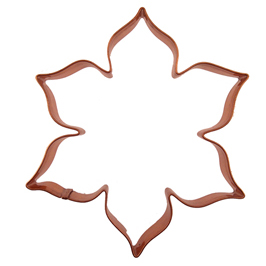 Copper Cookie Cutter-Flower
