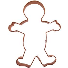 Gingerbread Boy Copper Cookie Cutter