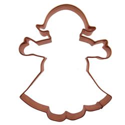 Girl Copper Cookie Cutter