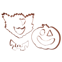 Halloween Copper Cookie Cutter Set
