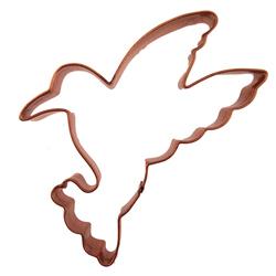 Hummingbird Copper Cookie Cutter