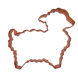 Lamb Copper Cookie Cutter