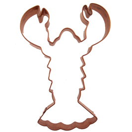 Lobster Copper Cookie Cutter