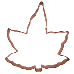 Maple Leaf Copper Cookie Cutter