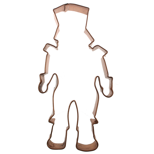 Nutcracker Copper Cookie Cutter