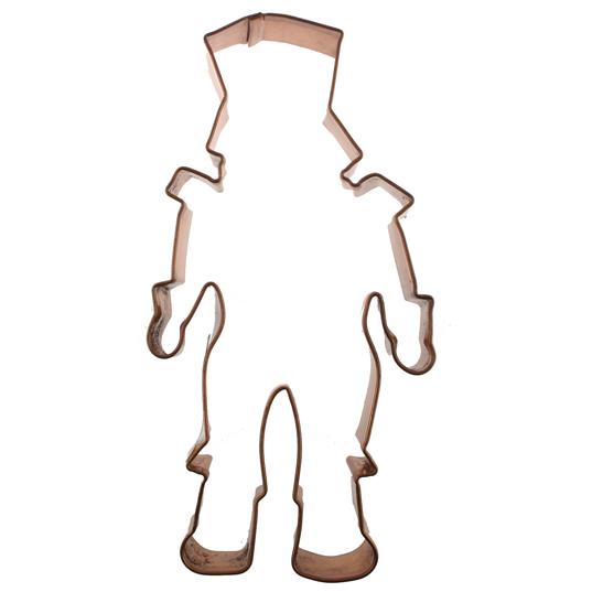 Nutcracker Copper Cookie Cutter