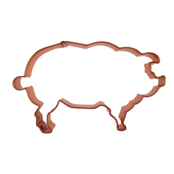 Pig Copper Cookie Cutter