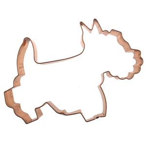 Scotty Dog Copper Cookie Cutter