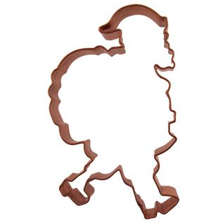 Santa Copper Cookie Cutter