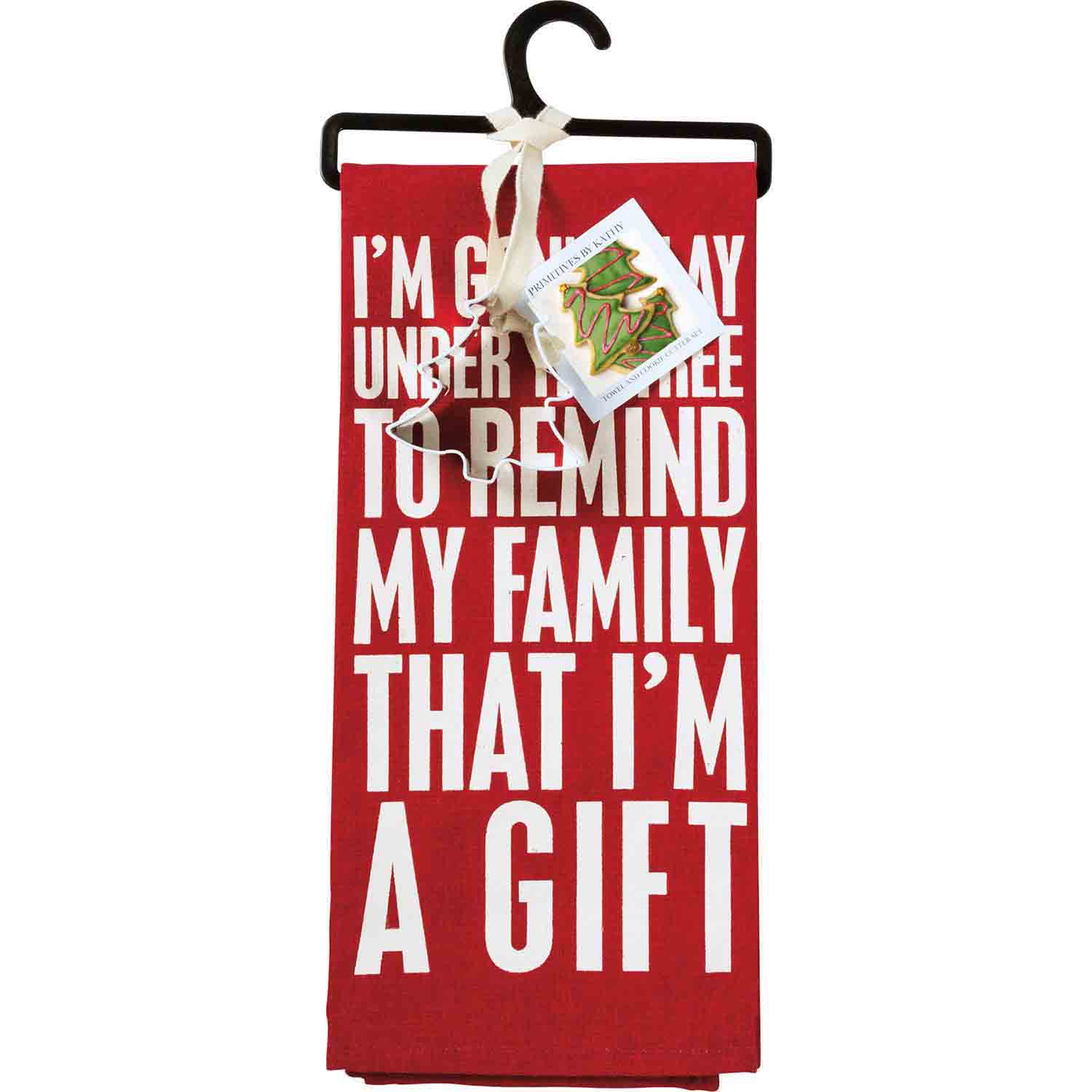 I'm A Gift Towel & Cutter Set