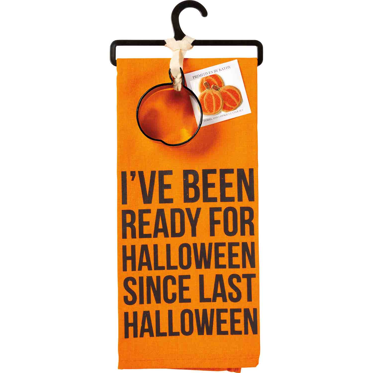 Ready For Halloween Towel & Cutter Set