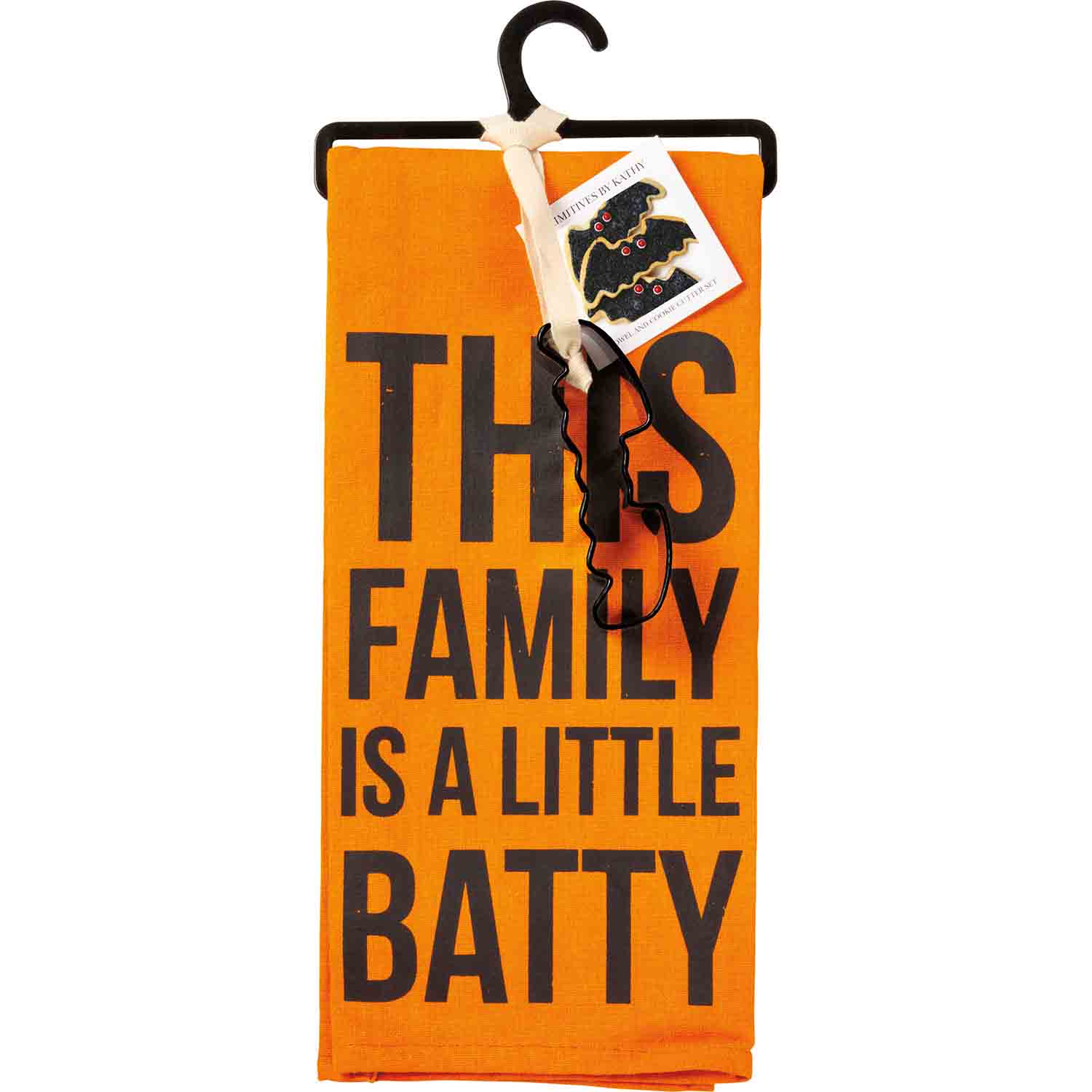 Batty Family Towel & Cutter Set
