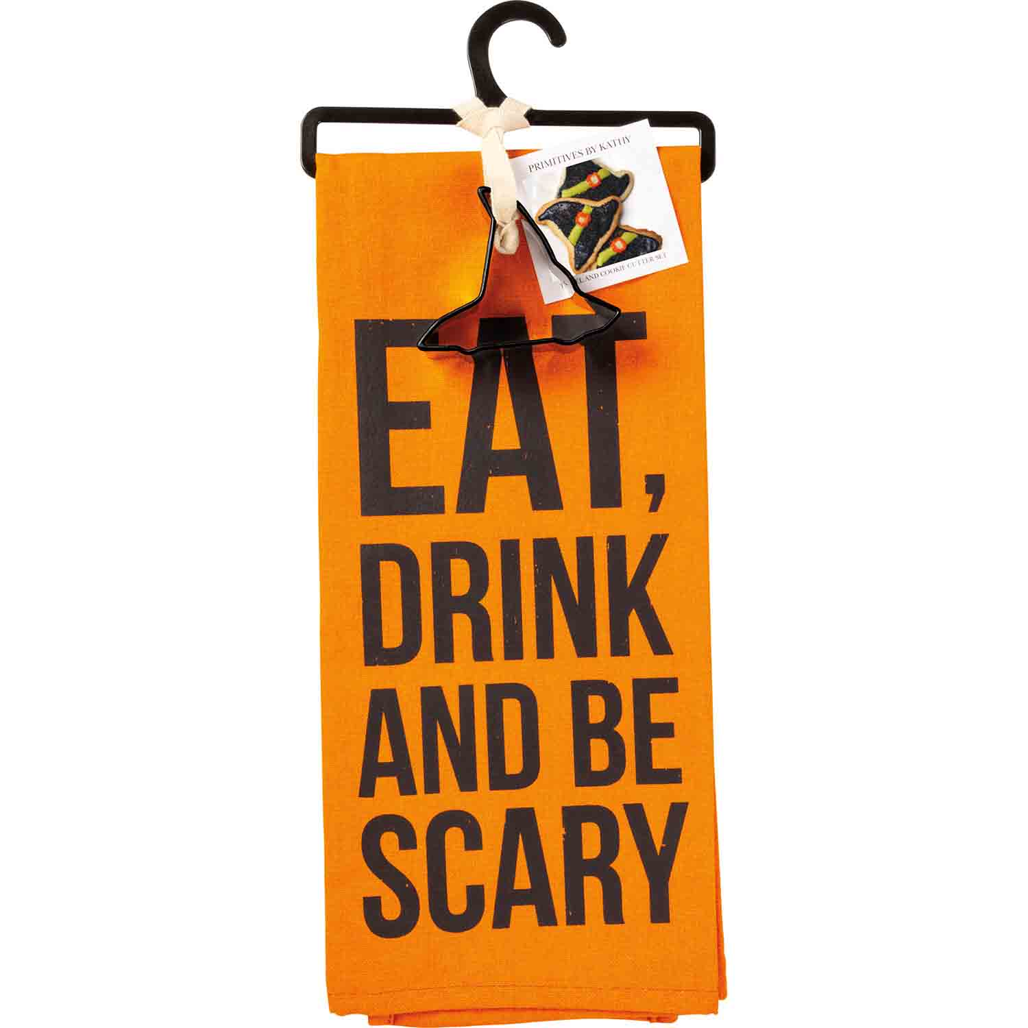 Be Scary Towel & Cutter Set