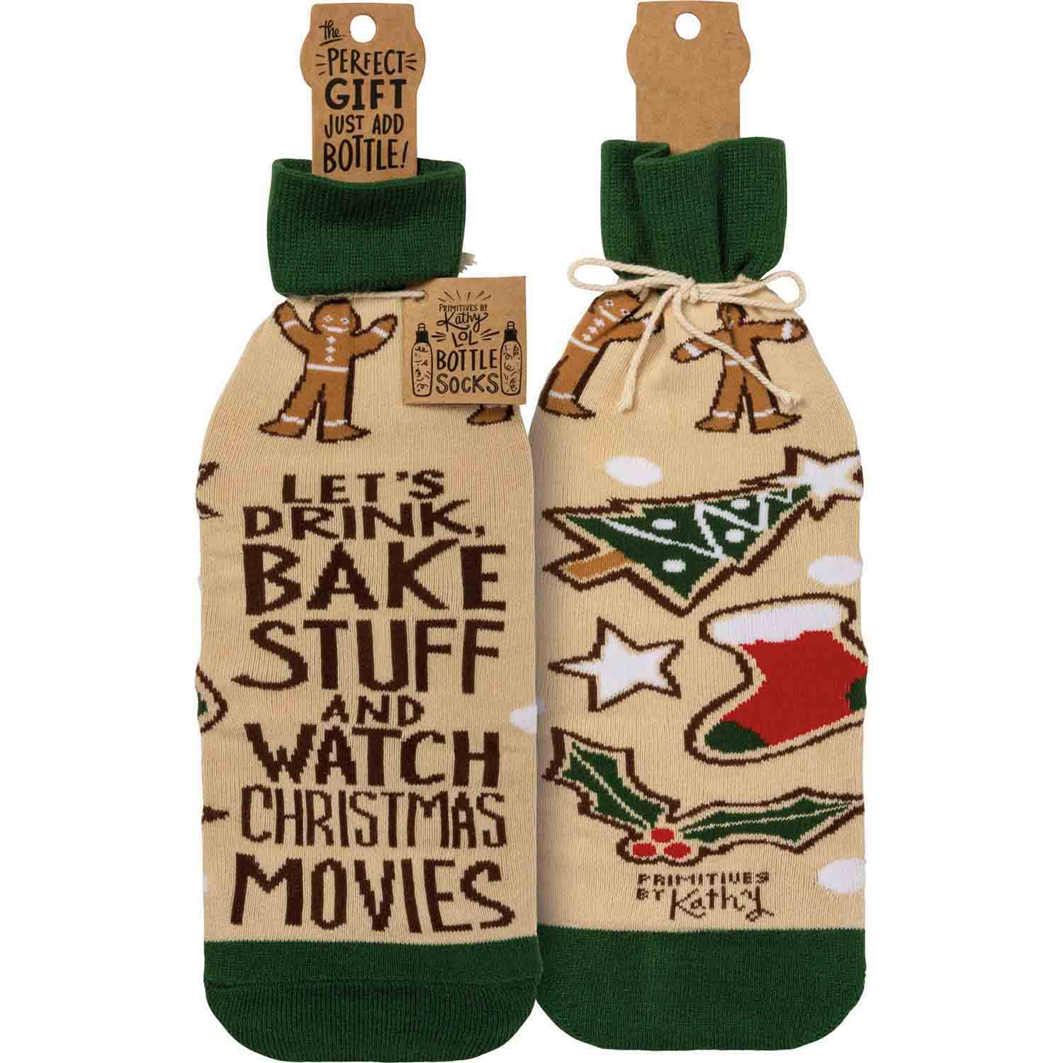 Bake Stuff And Watch Movies Bottle Sock