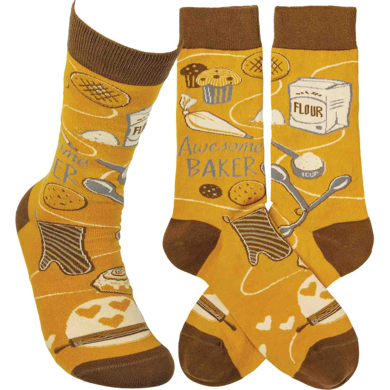Awesome Baker Socks