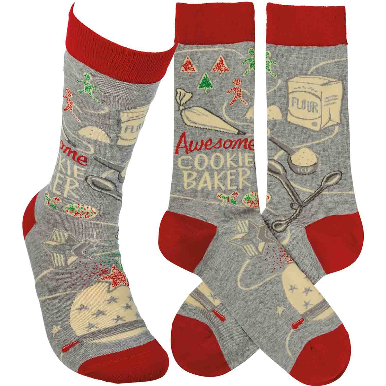 Awesome Cookie Baker Socks