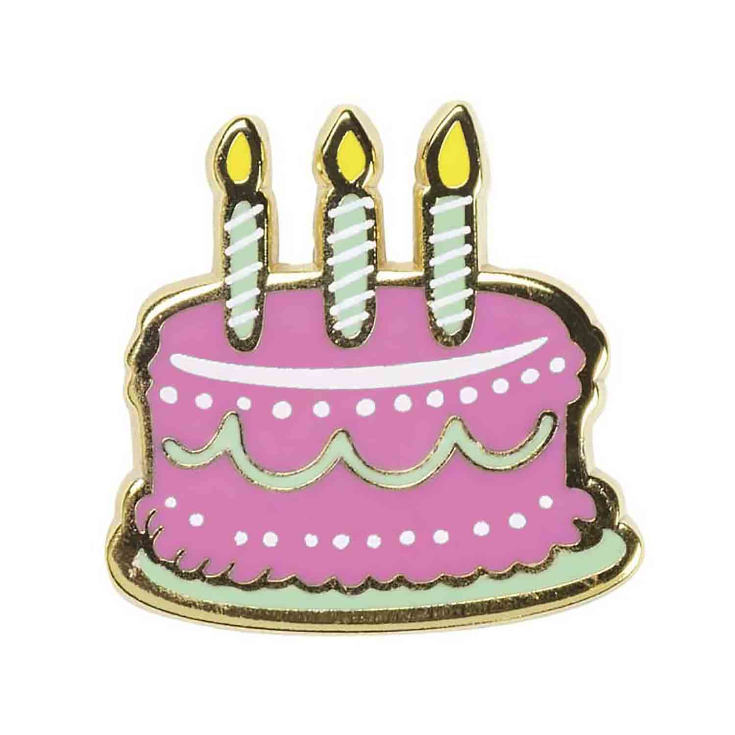 I Hope Your Birthday Is Lit Enamel Pin