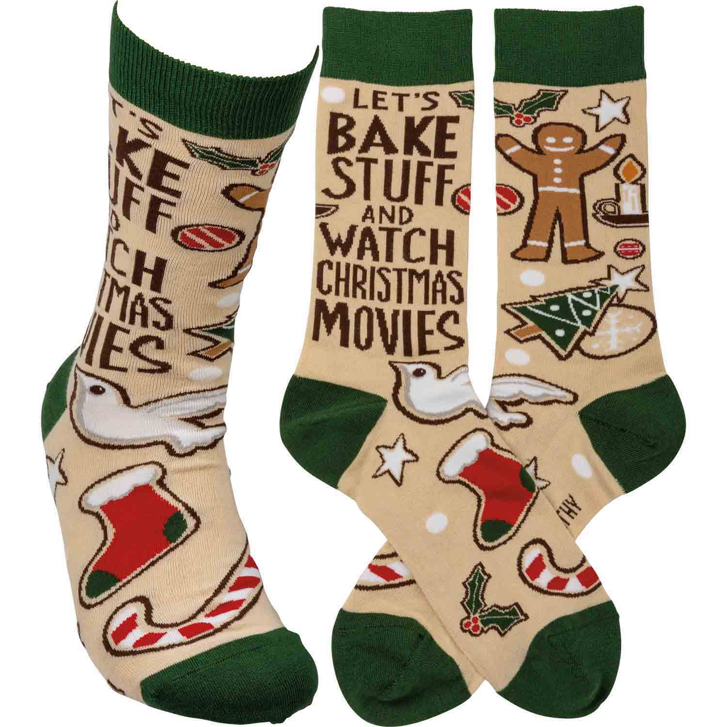 Bake Stuff And Watch Movies Socks