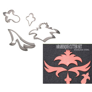 Gumpaste Cutter Set - Arabesque