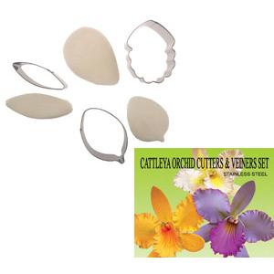 Gumpaste Cutter Set - Cattleya Orchid