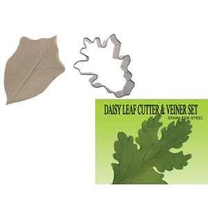 Gumpast Cutter Set - Daisy Leaf