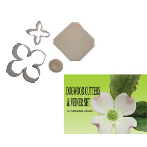 Gumpast Cutter Set - Dogwood