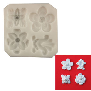 Silicone Mold - Embellishments