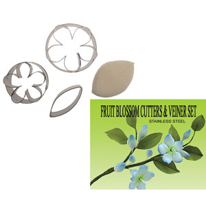 Gumpaste Cutter Set - Fruit Blossom