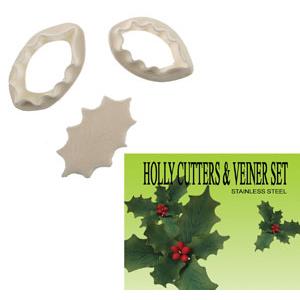 Gumpaste Cutter Set - Holly