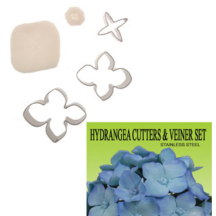 Gumpaste Cutter Set - Hydrangea Flower