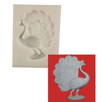 Silicone Mold - Peacock