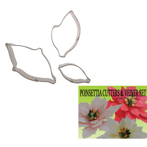 Gumpaste Cutter Set - Poinsettia