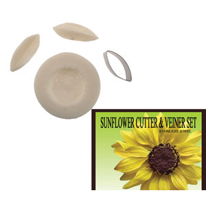 Gumpaste Cutter Set - Sunflower
