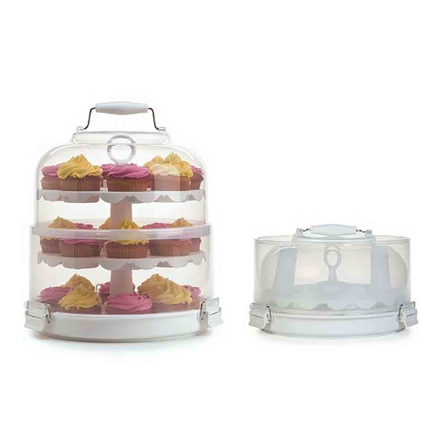 Cupcake Carrier and Display Stand