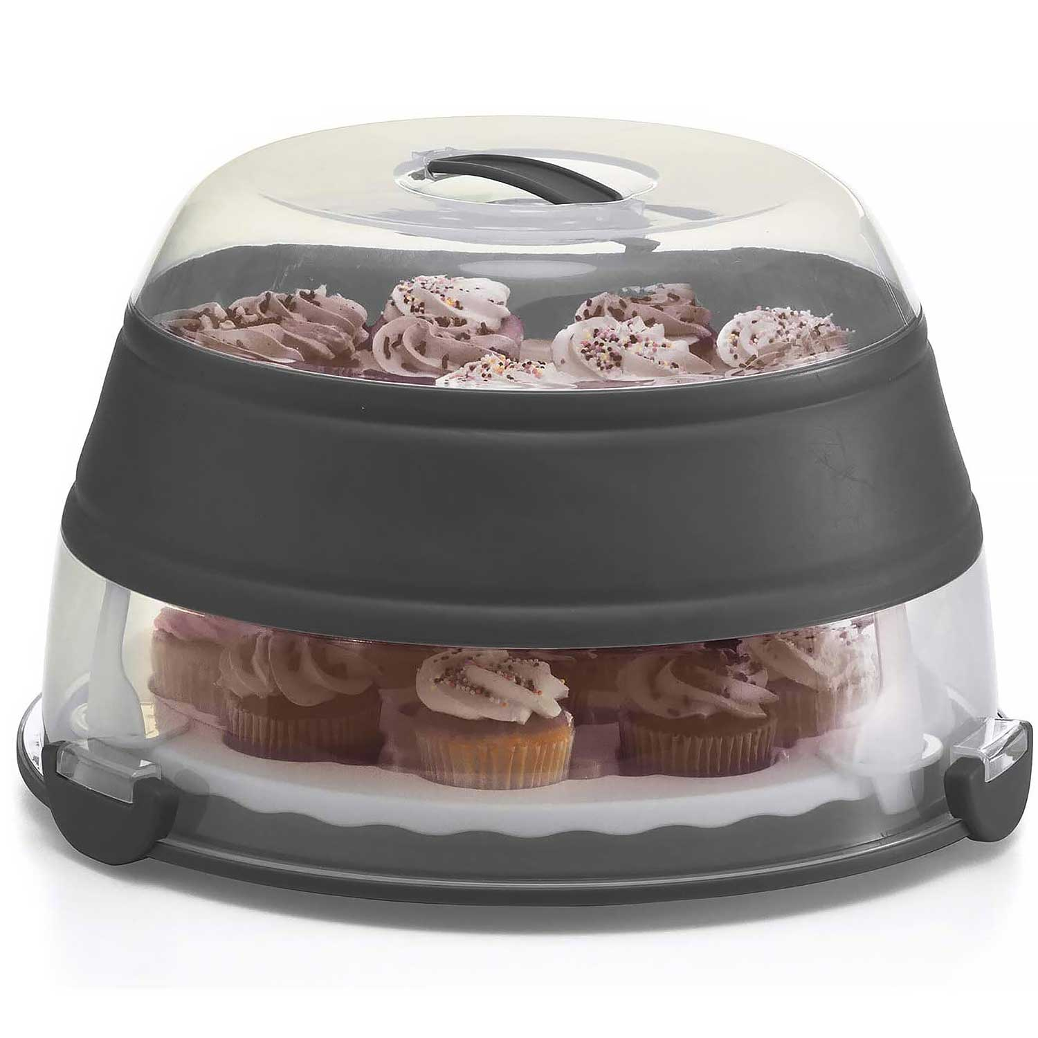 Collapsible Cake/ Cupcake Carrier