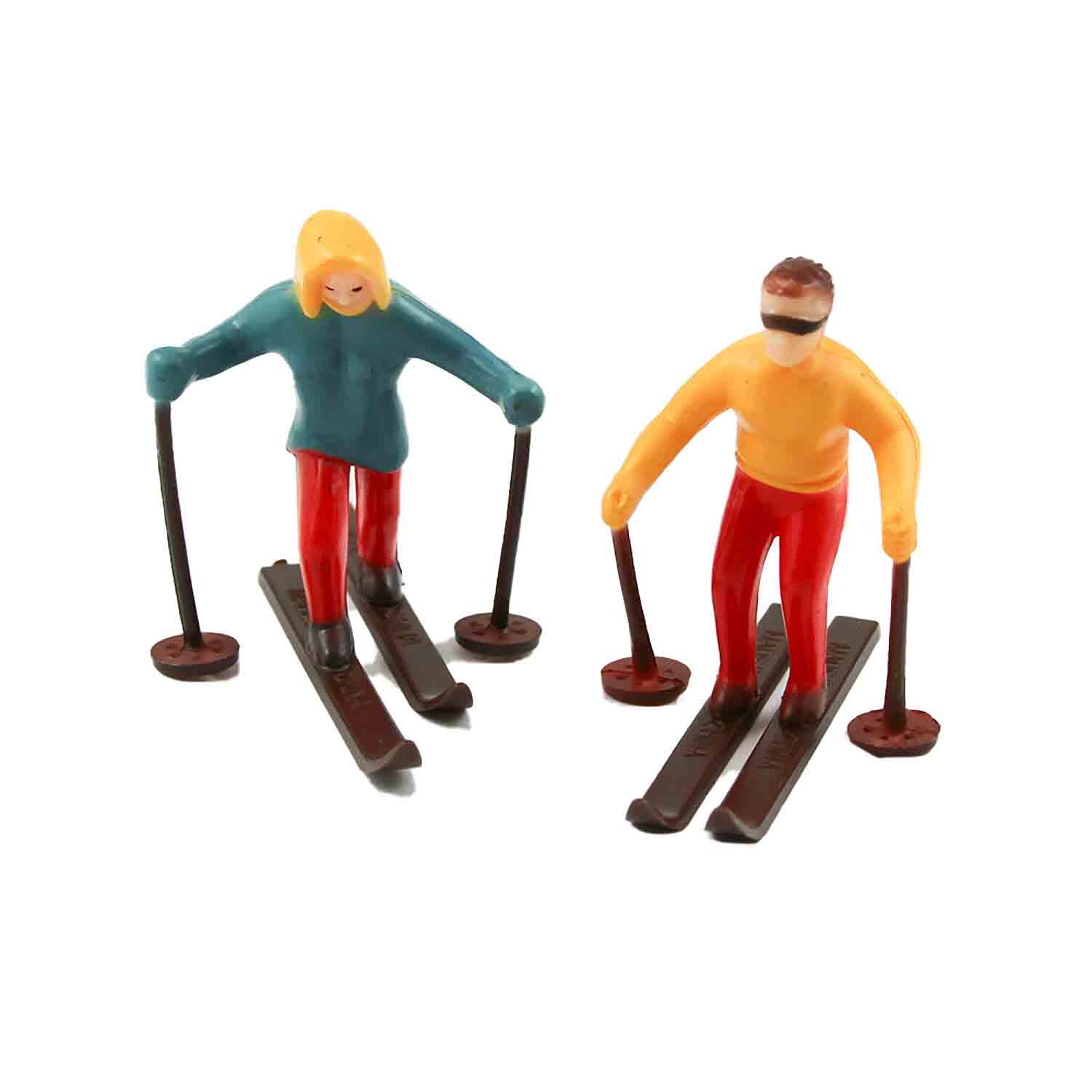 Skiers Cake Topper Set