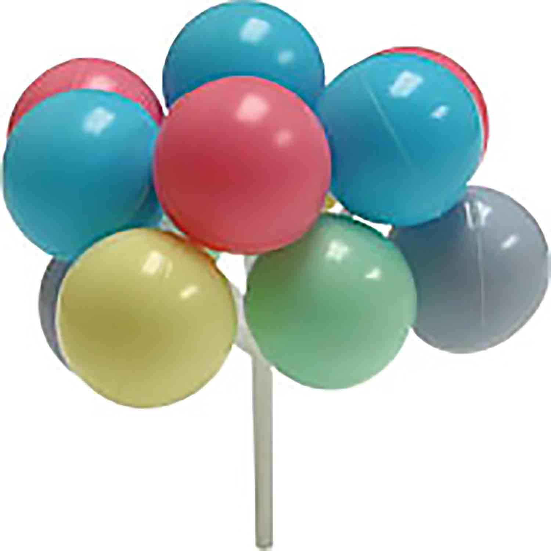 Pastel Balloon Picks