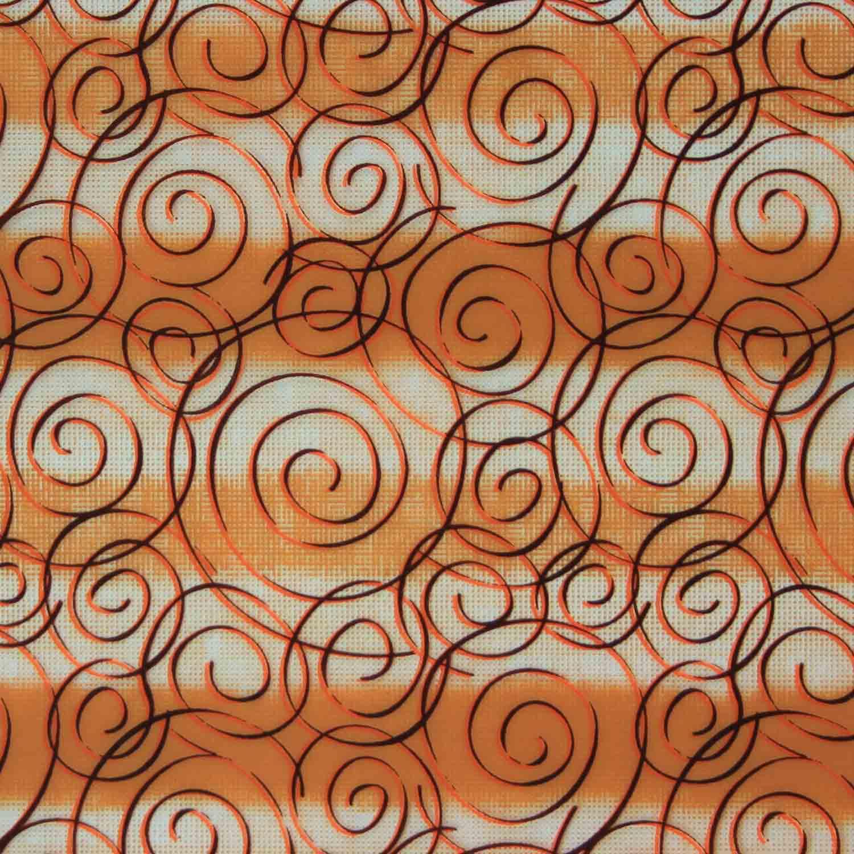 Mocha Spirale Chocolate Transfer Sheet