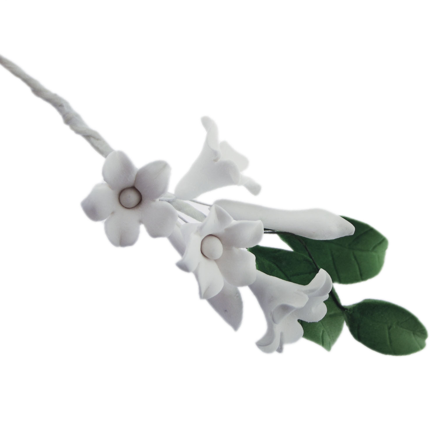 White Gum Paste Asian Stephanotis Filler
