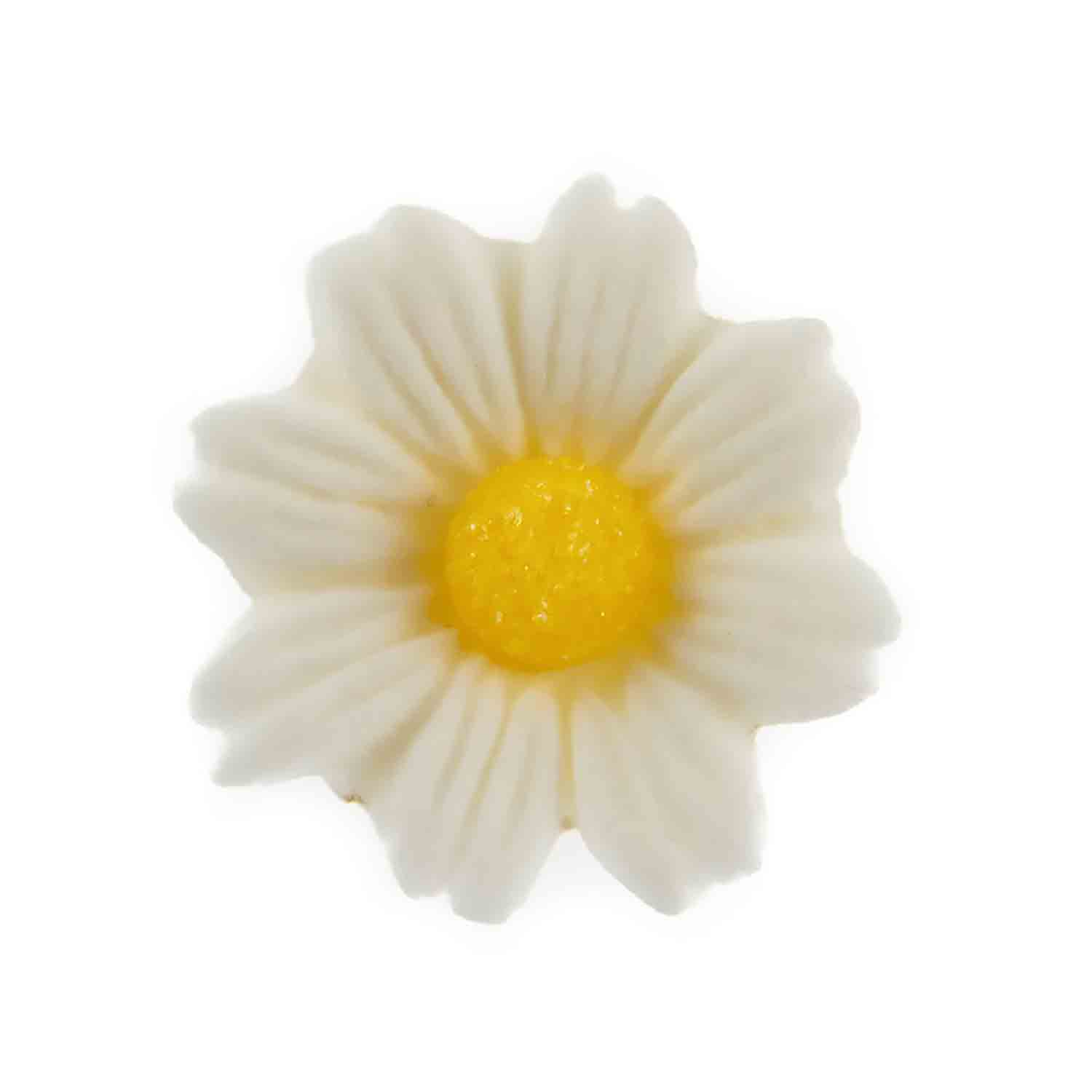 Medium White Gum Paste Daisies