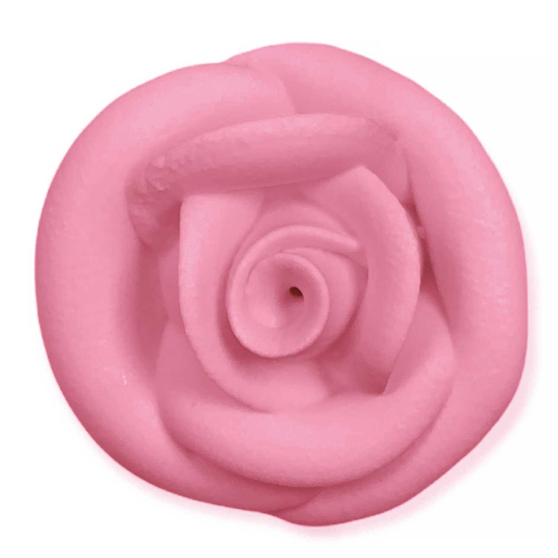 Pink Royal Icing Roses