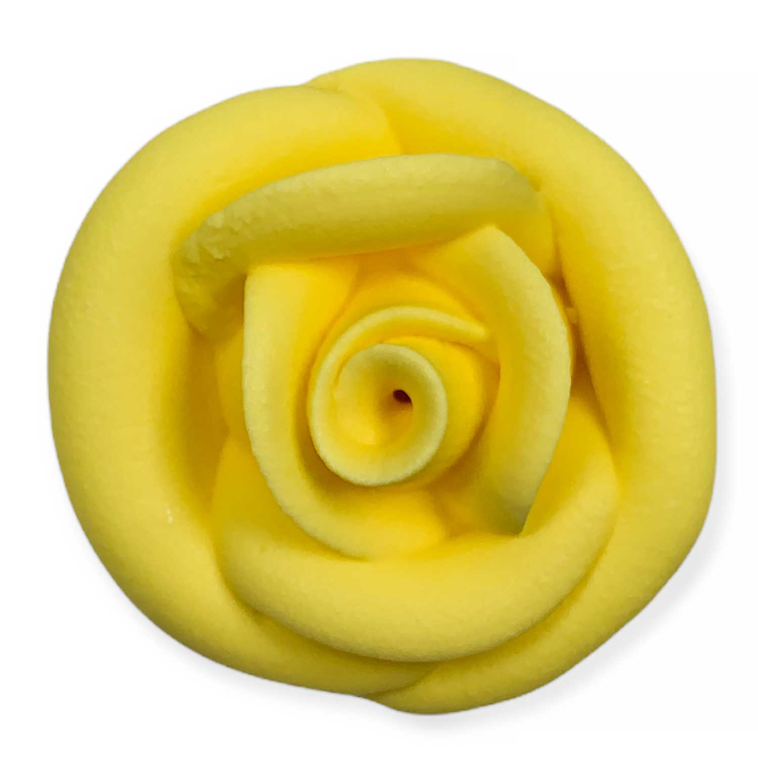 Yellow Royal Icing Roses