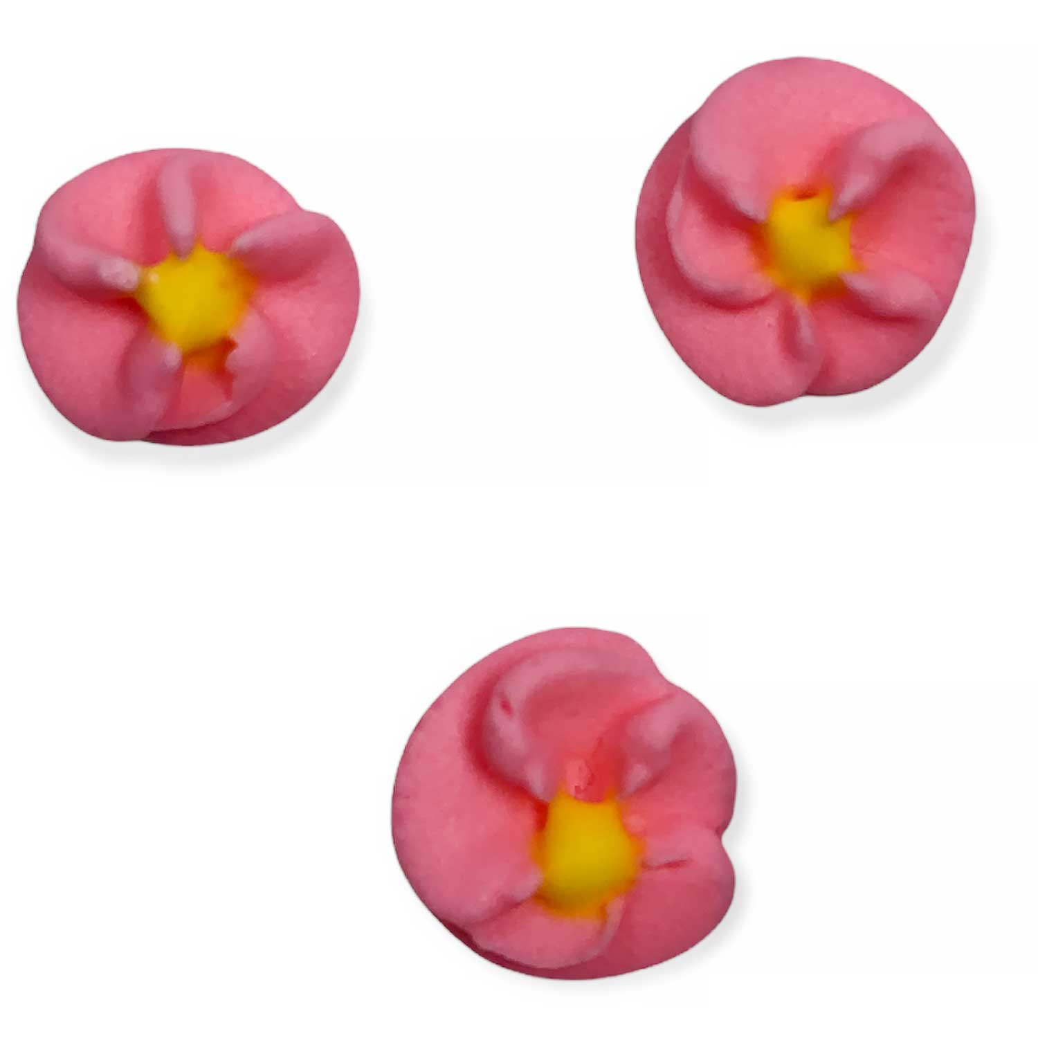 Icing Layons - Pink Button Flowers