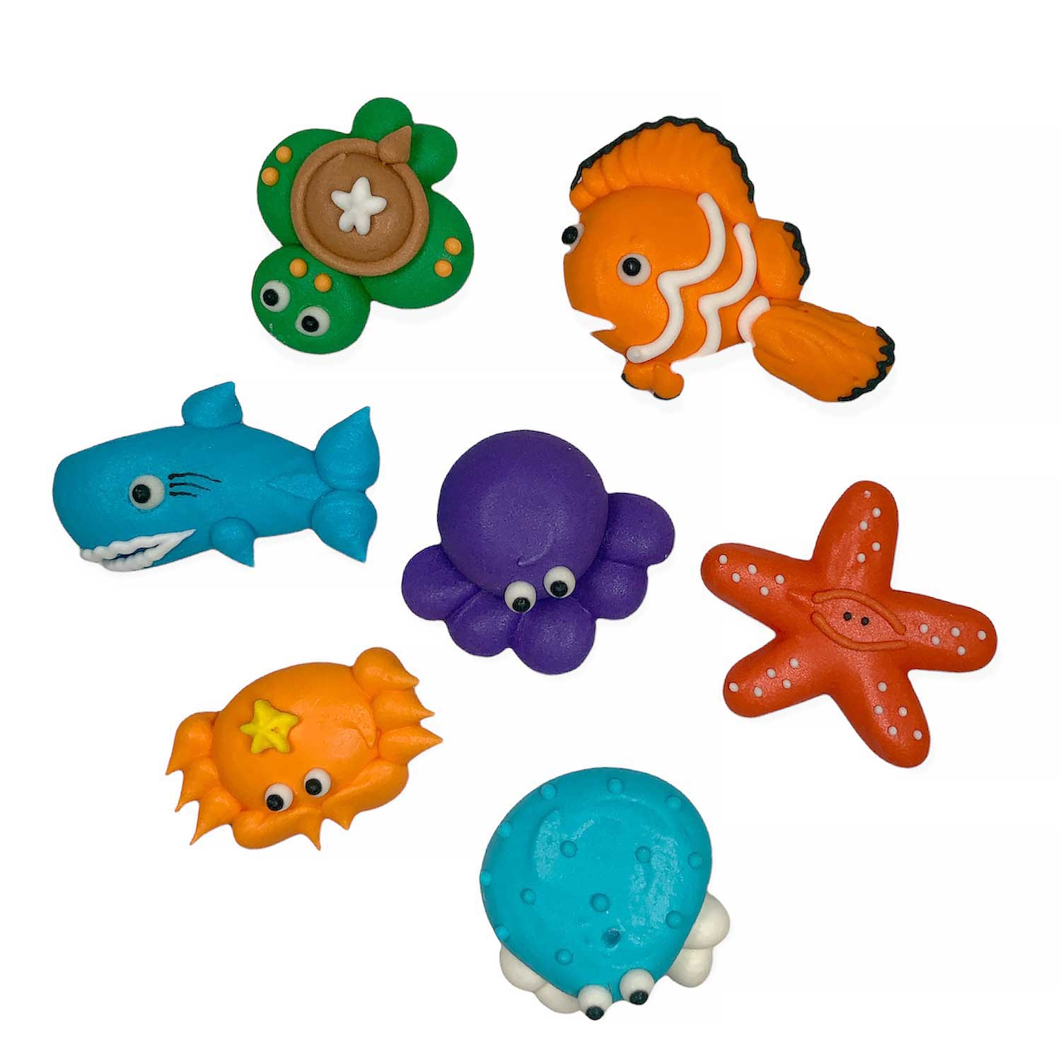 Icing Layons - Sea Creatures